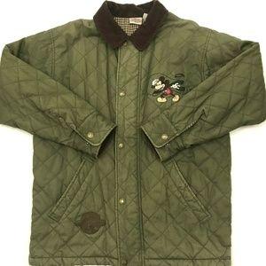Vintage Disney Barn Coat Full Zip/Button Corduroy